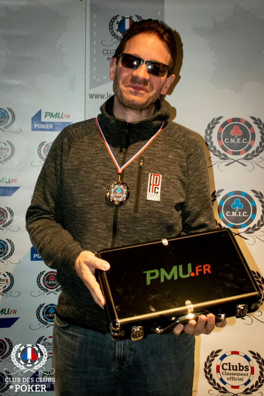 Geoffroy Gendreau (Paname Poker Club), Runner-Up