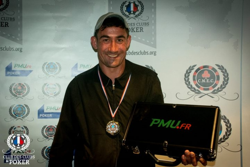 Damien Mazoin (Saintes Poker Club), 6e