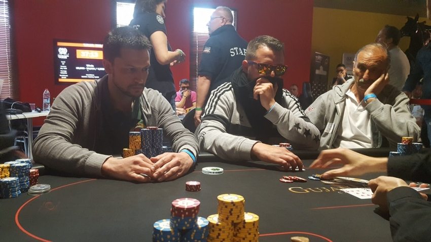 Tony Fassolis remporte un HUGE POT